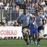 La seconda linea delle Zebre Rugby Quintin Geldenhuys in azione allo Stadio Lanfranchi di Parma contro Ulster - Amarcord FotoVideo