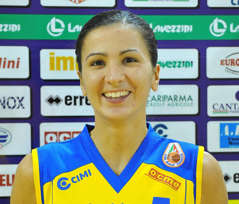 Maria Chiara Franchini, guardia del Lavezzini Basket Parma e colonna portante della Nazionale italiana femminile, Medaglia d'Oro ai Giochi del Mediterraneo ... - franchiniRid_606662860
