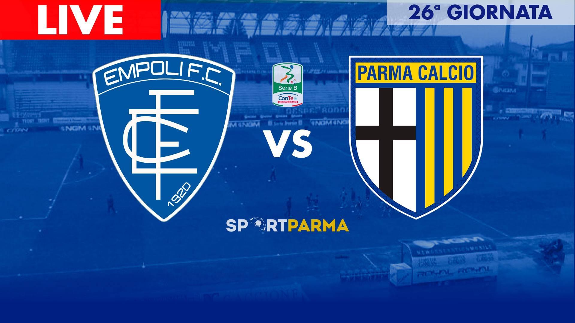 Serie B (26a giornata): l'Empoli strapazza il Parma. Palermo battuto dal Perugia
