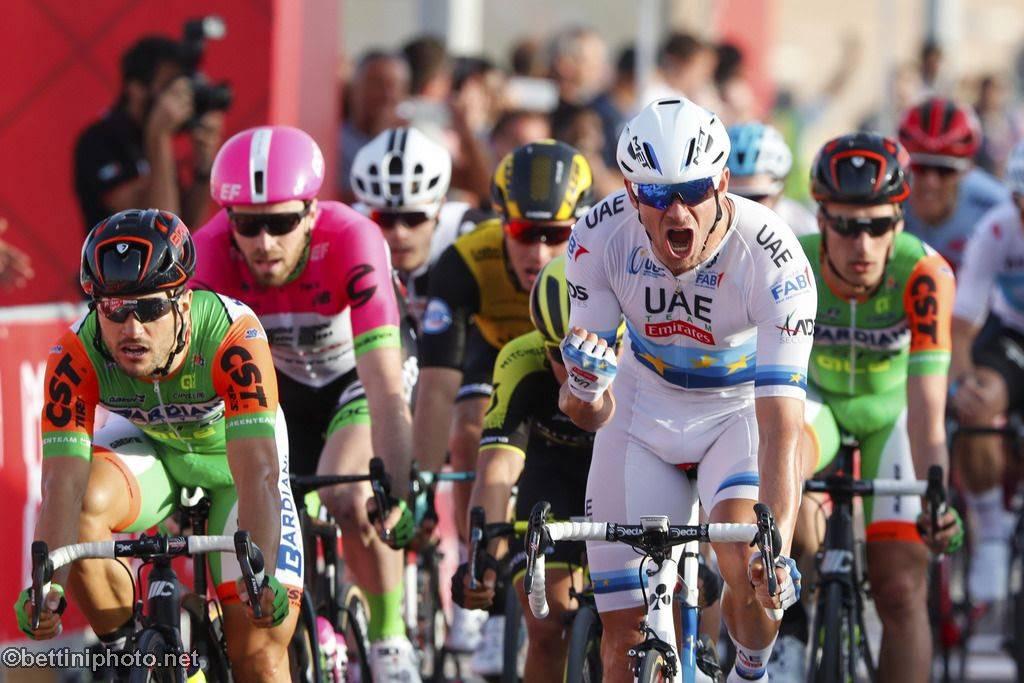 Ciclismo, Abu Dhabi Tour: colpo doppio Valverde, sua tappa finale e corsa