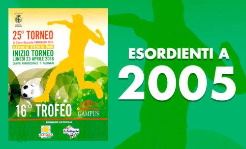 Esirdienti A 2005 - Torneo Carignano 2018