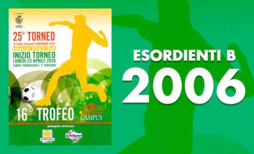 Esordienti B 2006 - Torneo Carignano 2018