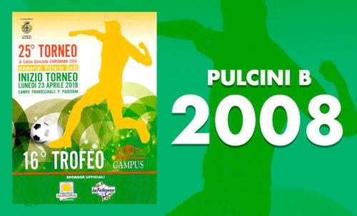 Pulcini B 2008 - Torneo Carignano 2018