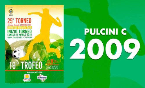 Pulcini C 2009 - Torneo Carignano 2018