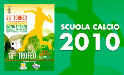 Scuola Calcio 2010 - Torneo Carignano 2018