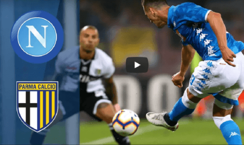 HIGHLIGHTS: Napoli - Parma 3-0