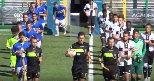 COPPA ITALIA PRIMAVERA 1° Turno: Sampdoria-Parma 1-0 (Highlights) - Intervista a Mister Catalano (Video)