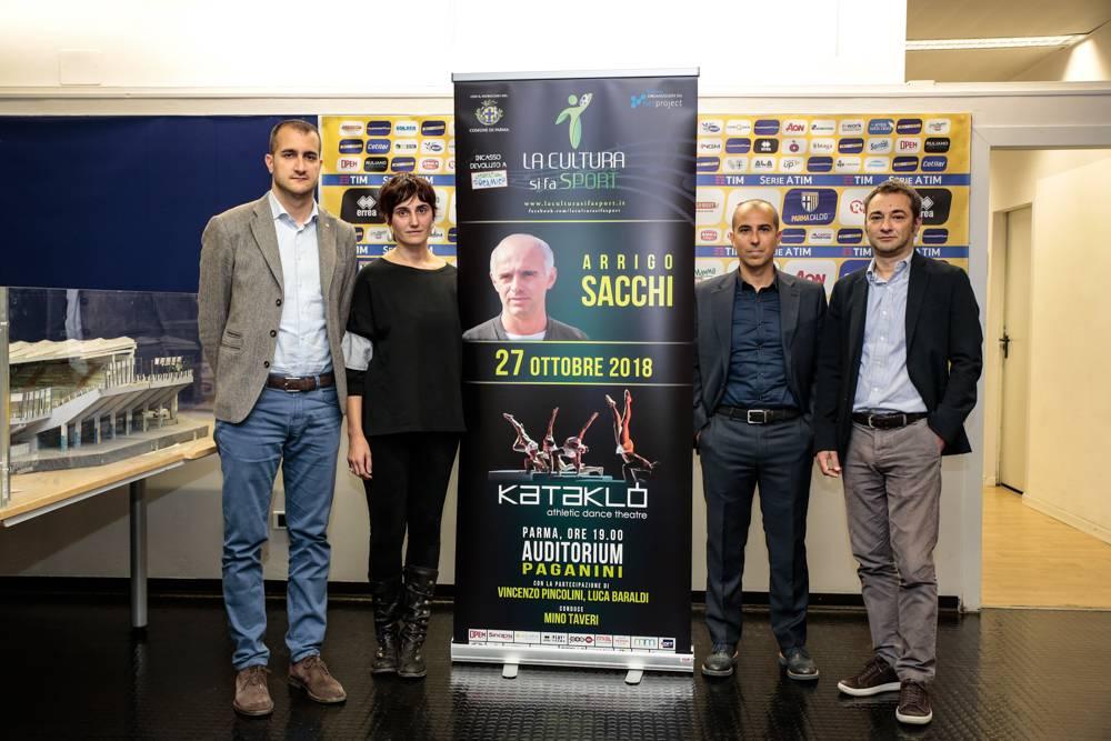 Si Fa Cultura Come In Salotto: La Cultura Si Fa Sport, Sabato All'Auditorium Paganini