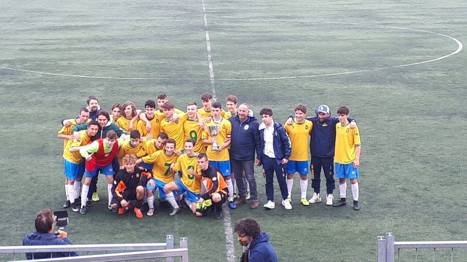 Allievi 2002 Colorno campioni regionali