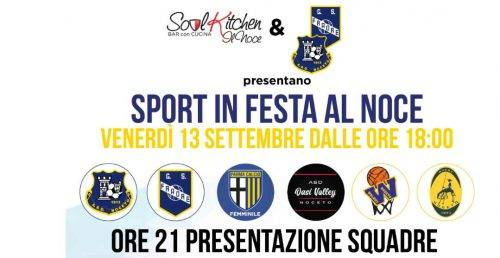 SPORT IN FESTA AL NOCE - GUARDA LA DIRETTA STREAMING
