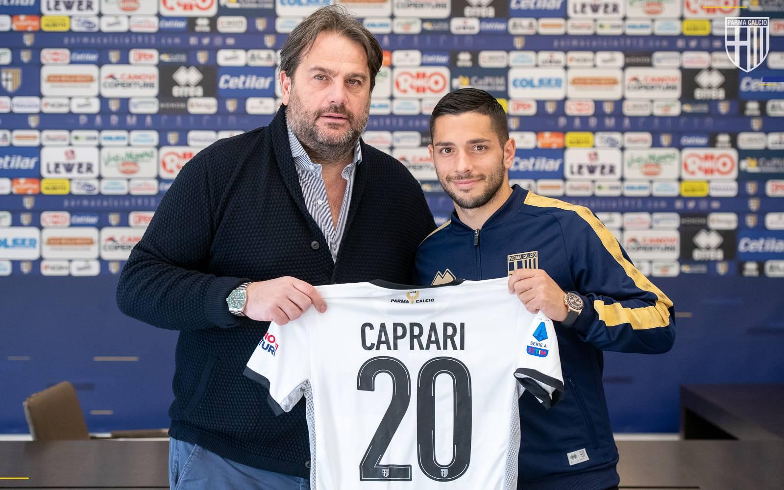 CAPRARI: «Il Parma mi ha voluto più di tutti, cerco continuità ...