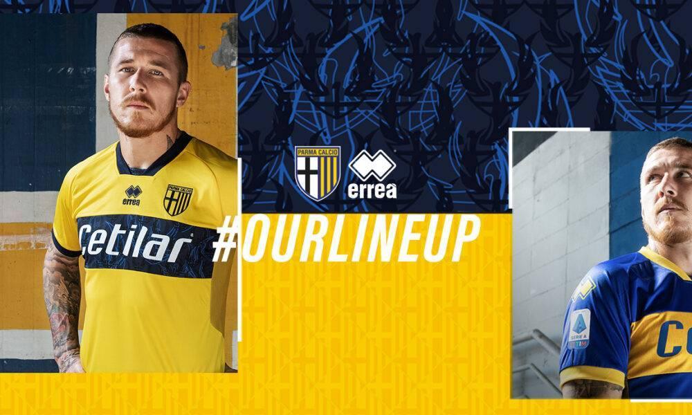 Due nuove versioni della maglia gialloblù - SportParma
